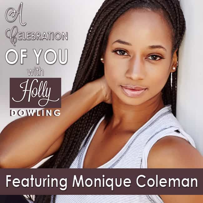 Monique Coleman on Celebrate You with Holly Dowling