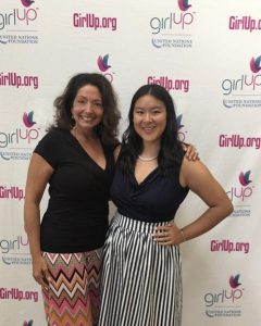 Holly Dowling and Amy Gong Liu Girl Up Leadership Summit 2017