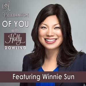 Winnie Sun on A Celebration of You with Holly Dowling