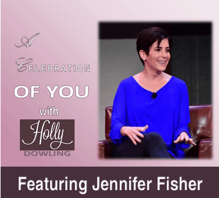 "105 ~ Jennifer Fisher ""Have courage to do less."""