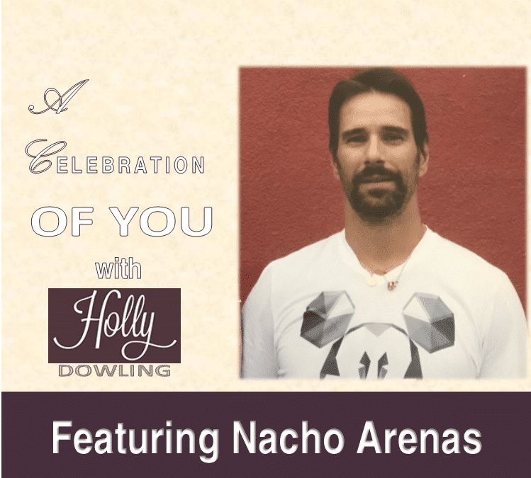 "111 Nacho Arenas ~ ""Sometimes you start the healing with giving."""