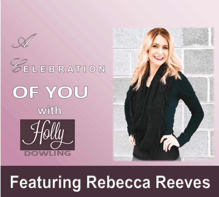"112 Rebecca Reeves ~ ""Own your power within you!"""