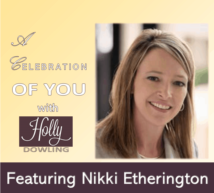 """118 Nikki Etherington ~ """"Don't feel guilty for taking time for yourself."""""""
