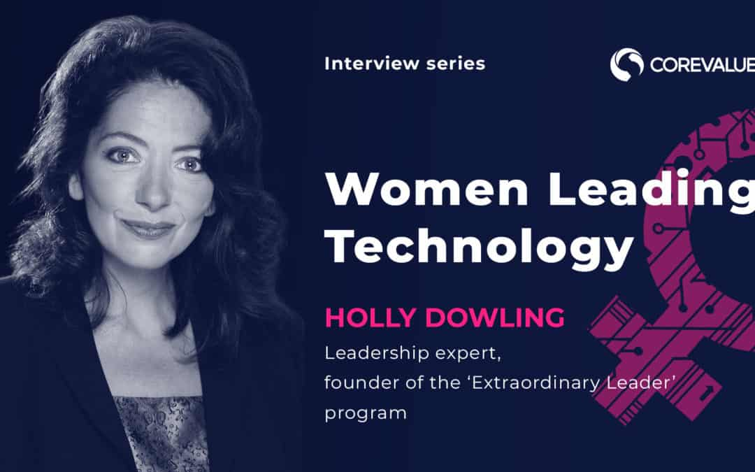 Women Driving Tech. Interview with Intelligent, Classy, Ambitious and Inspirational Technologists.