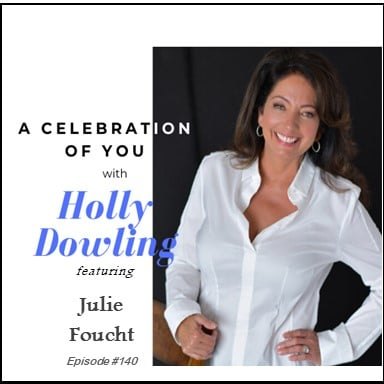 """140 Julie Foucht ~ """"There's only strength to be gained by asking."""""""